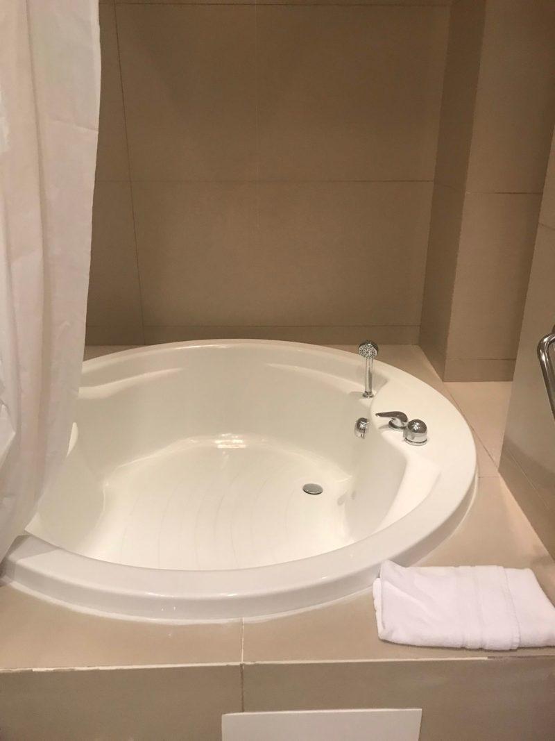Baignoire hôtel