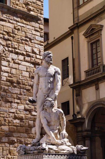 Statue piazza della Signoria