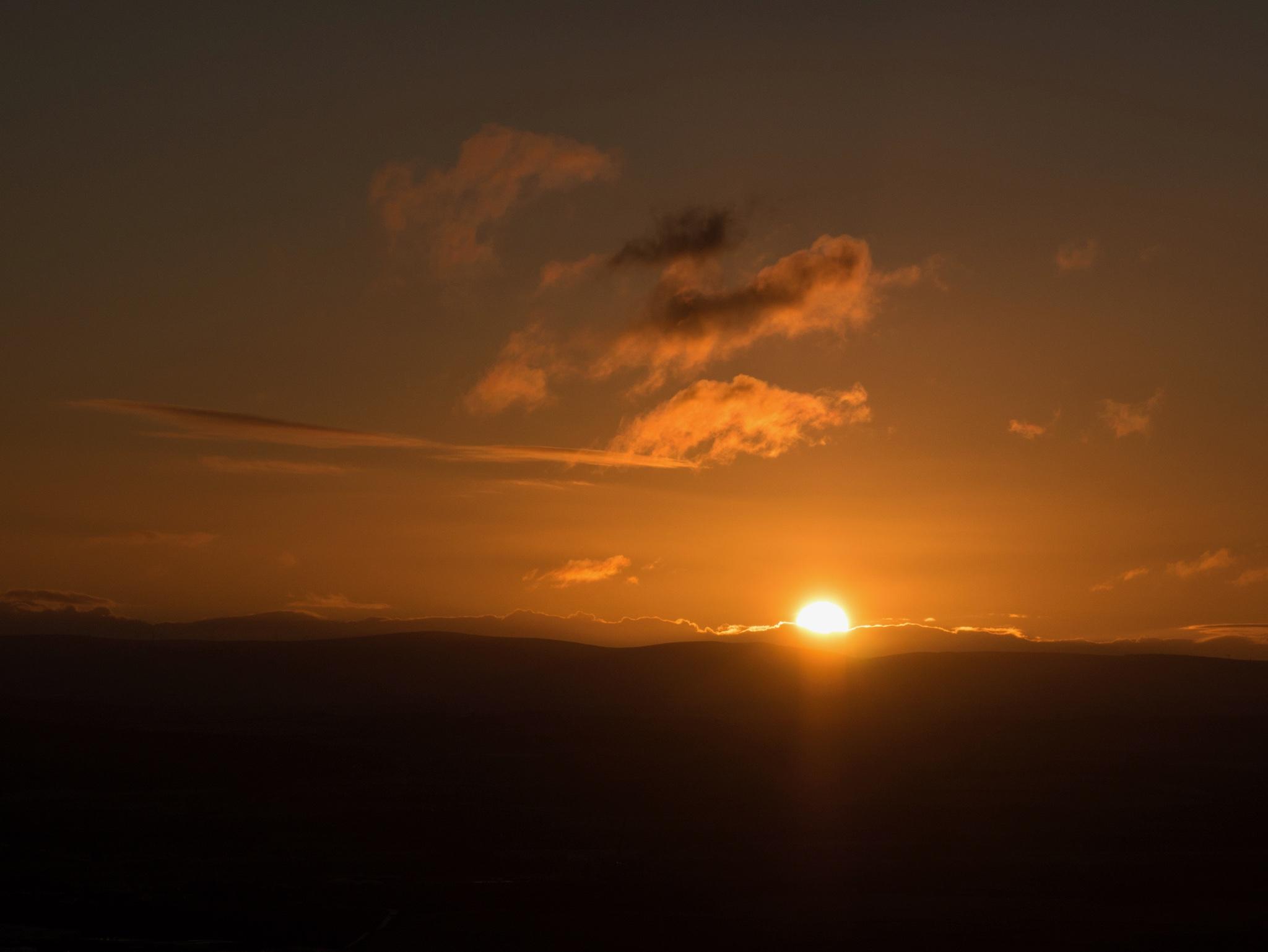 Lever de soleil depuis Arthur's seat
