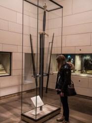 Epée du Musée national d'Ecosse