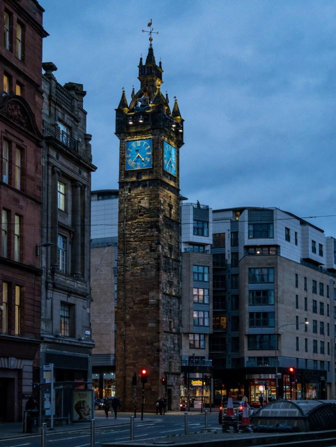 Une des nombreuses horloges de Glasgow