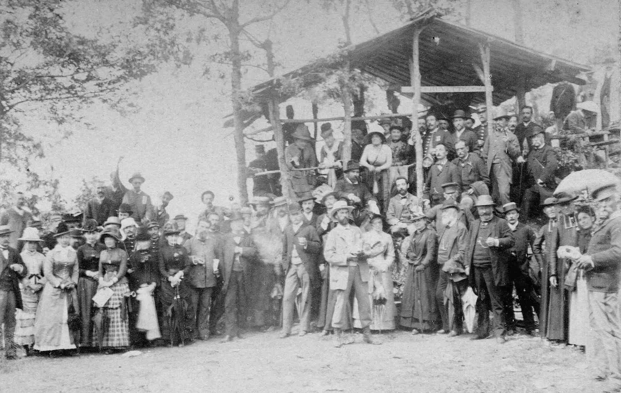 Visite à Gargas (1885)
