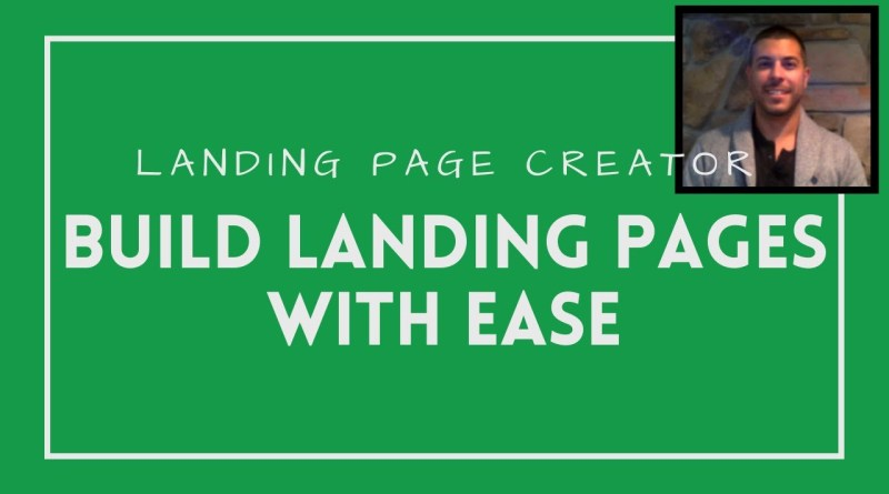 Landing Page Creator | Build Landing Pages With EASE