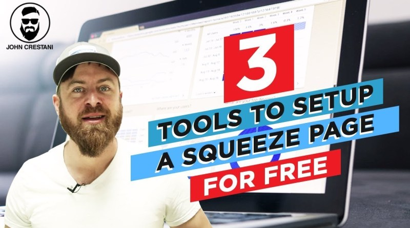 How To Add A Squeeze Page To Your Website
