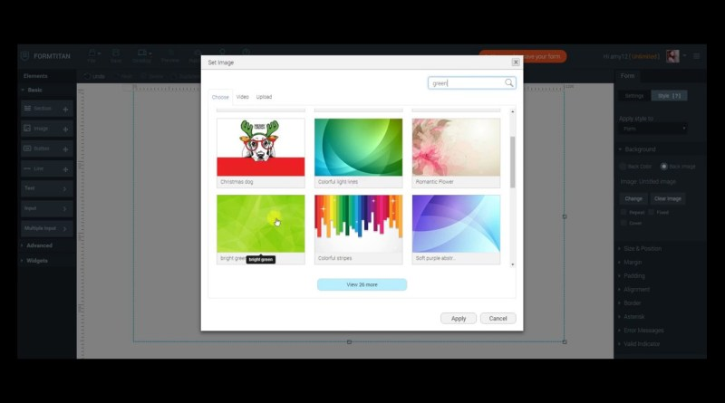 formtitan online form builder and  landing page creator - how to