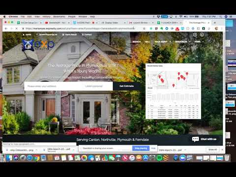 How to Build a Seller Squeeze Page to Generate Listing Leads in kvCore with eXp Realty