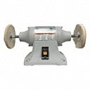 Grainger Choice Product Bench Buffer, For Max. Wheel Dia. 6 in, Speed Setting Single Speed - Also available in (1/4 hp - 6 hp, 1/4 in - 6 in Max. Wheel Dia). - Available on Credit