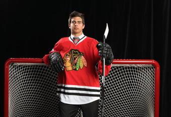 Chicago Blackhawks prospect Brandon Pirri