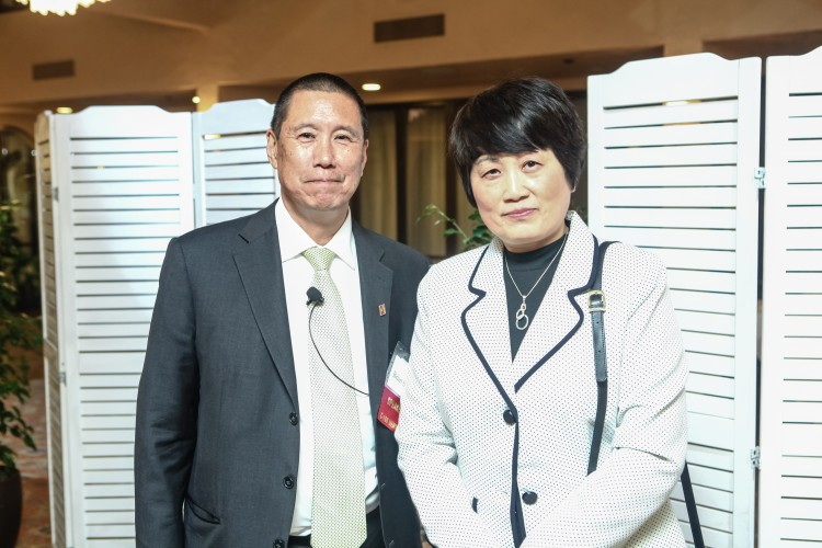 C100 Member Brian Sun and Former Federal Hydrologist Sherry Chen