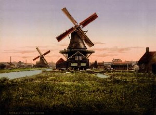 wind-power-early-dutch-windmills