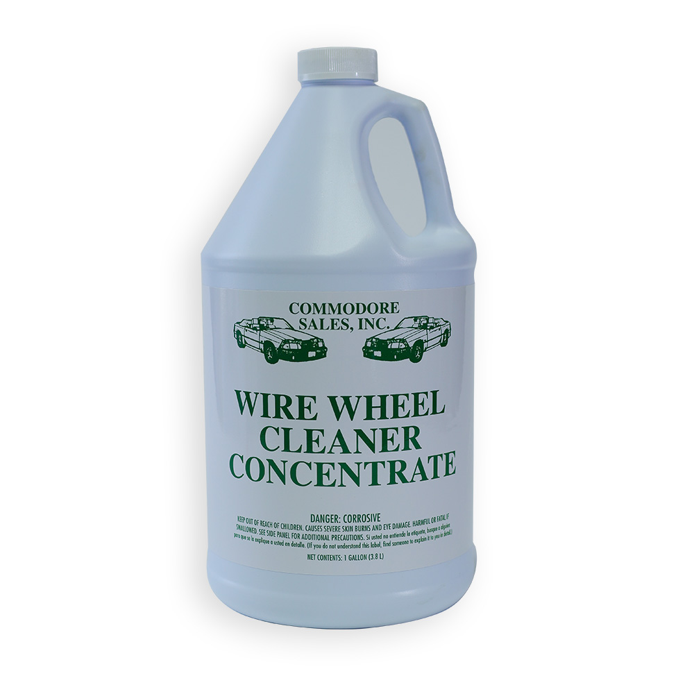 WIRE WHEEL CLEANER CONCENTRATE