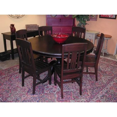 Buy Low Price Casual Elements Biltmore 7 Piece Dining Table Set CID1137 K