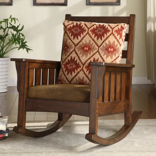 International Caravan Bentwood Rocking Chair   QRB100