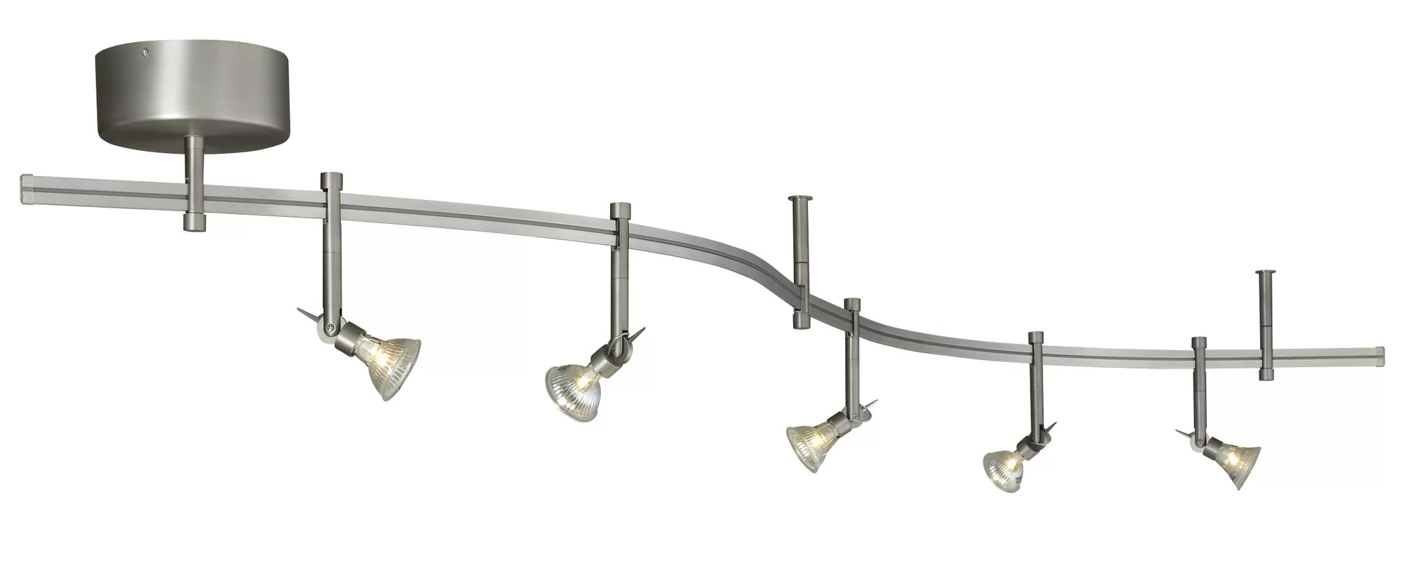 Tech Lighting Tiella 5 Light Decorative Flexible Track