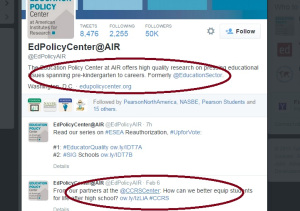 Career ready via AIR Institute, a pro CCSS group.