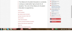 'All for Ed' is all for CCSS and CTE.