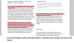 At least the EU is upfront about their career readiness.