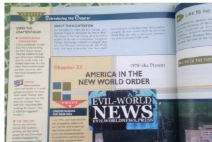 Source of this photo: http://www.evilworldnews.press/2015/10/18/new-world-order-in-school-book/