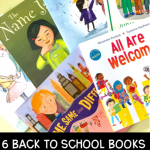 Various books that open discussions of kindness and diversity when used in the classroom.