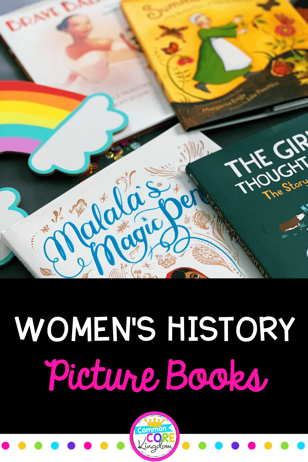 Women's History Picture Books Blog Post Cover