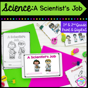 a scientist's job cover