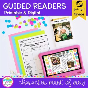 Character Point of View Guided Reader cover for 2nd & 3rd grade RL.2.6 RL.3.6