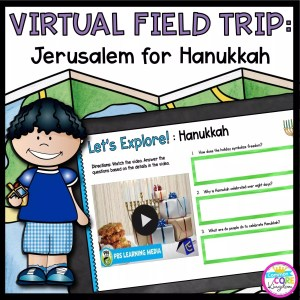 Virtual Field trip to Jerusalem for Hanukkah Cover