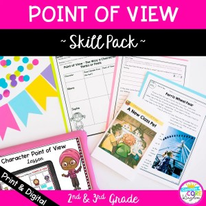 Point of View Skill Pack in Fiction Cover