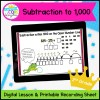 Subtraction to 1000 Mini Lesson for 2nd Grade