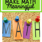 5 five ways to make math more meaningful pinterest cover