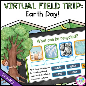 Virtual Field Trip for Earth Day! - Primary in Google Slides & Seesaw Format