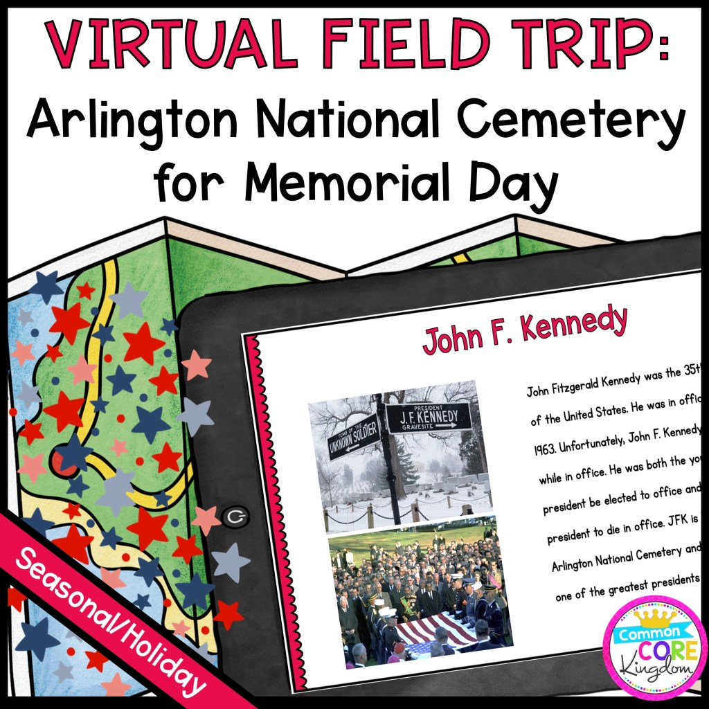Virtual Field Trip to Arlington National Cemetery for Memorial Day