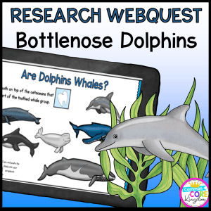 Research Webquest: Dolphins! - Google Slides for Distance Learning