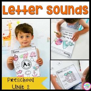 Letter Sounds Preschool Unit 2