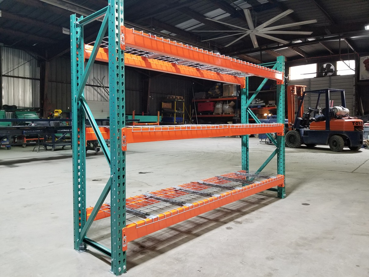 Pallet Rack Shelving Teardrop Racking Forklift Industrial