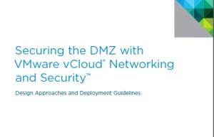 DMZ - VMware