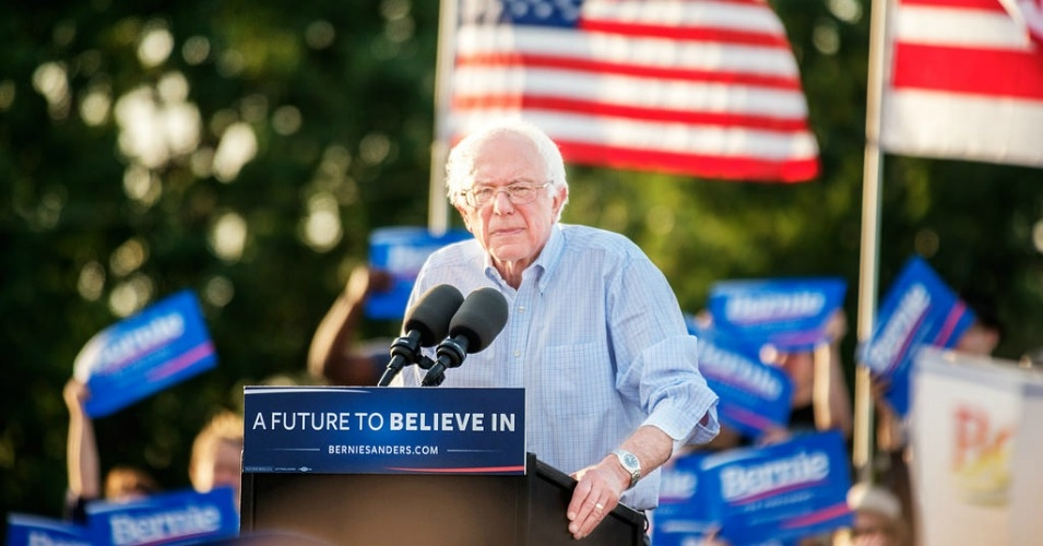Sanders holds a signature rally on June 9, 2016. (Photo: Hillel Steinberg/flickr/cc)