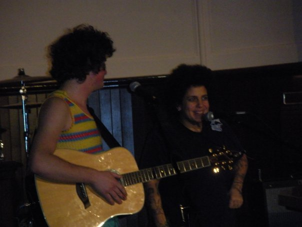 """Kimya Dawson joins Dave End to sing Dave's song """"Barbie"""""""