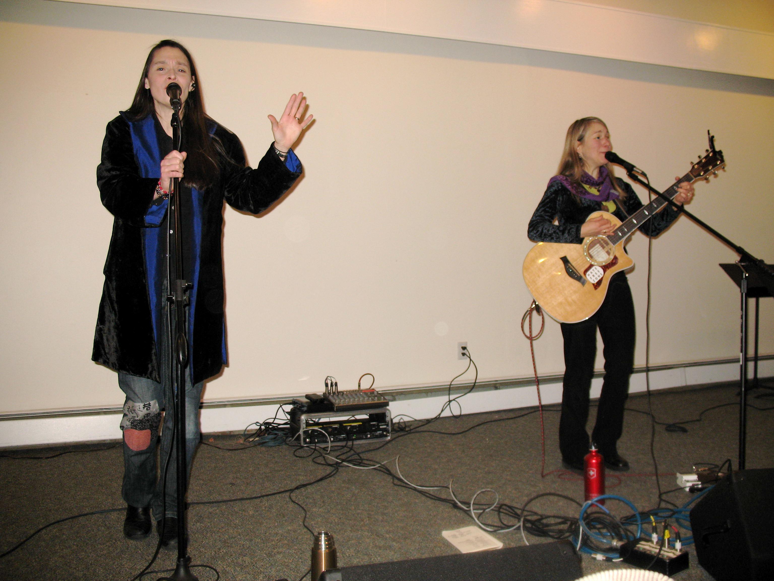 Katryna and Nerissa (Courtesy of Jim Howe)