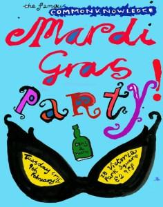 Mardi Gras Party 2016