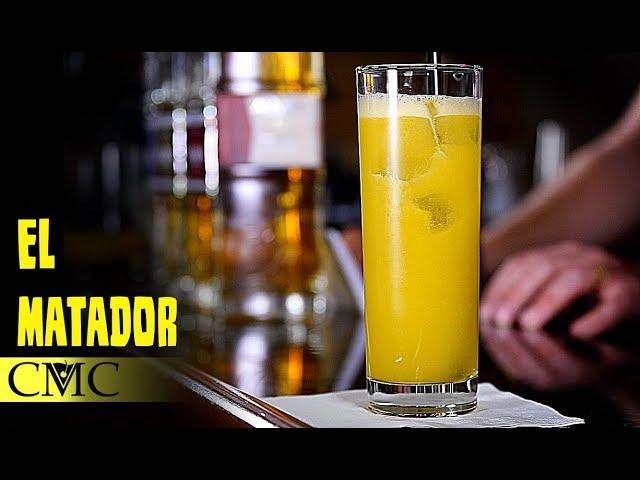 How To Make The Matador (slightly wrong) / Pineapple not OJ!
