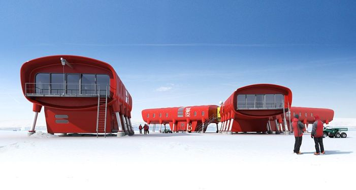 Juan Carlos 1 concept rendering. Image: Hugh Broughton Architects