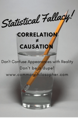 Please Stop Misrepresenting Statistics: Correlation is not causation.