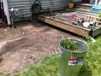 Getting the deck worked on