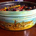 Tin of Crayons