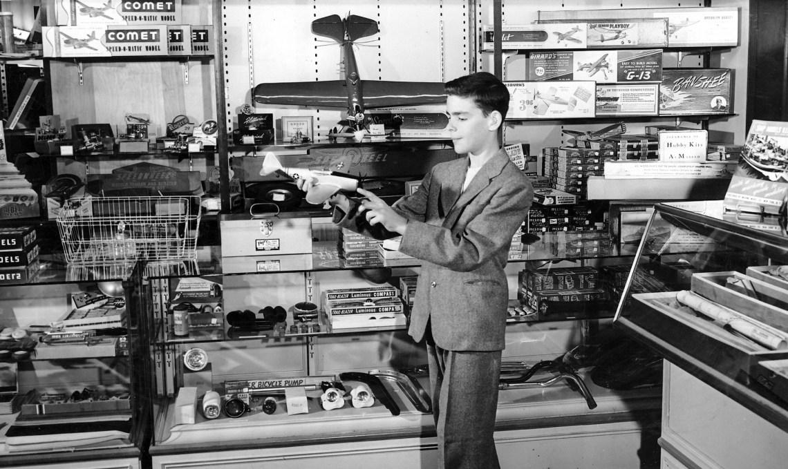 Hobby Shop 1950s