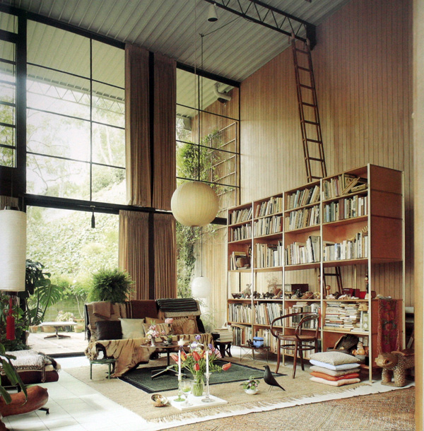 Eames House Interior
