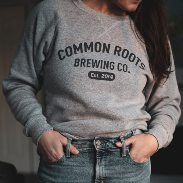 Cozy Grey Common Roots Sweatshirt