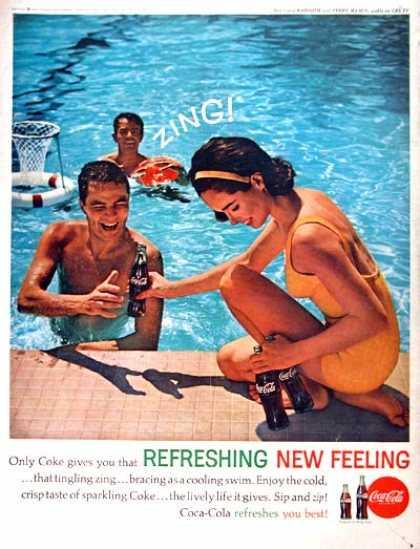 Resultado de imagem para coca cola 1960s