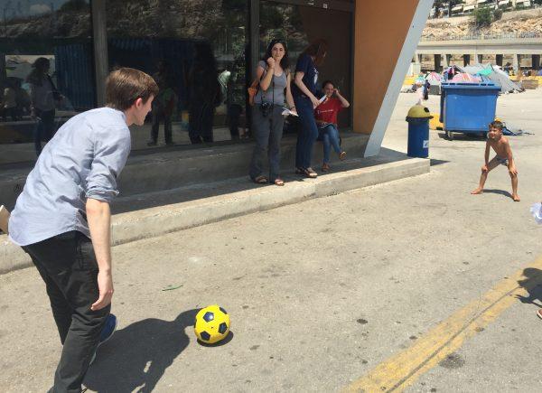 Harrison soccer Pireaus
